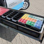 ALUCA dimension2 mit neuer BOXXen-Schublade