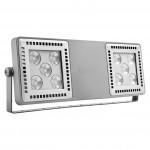 Das System [4] besteht aus einem LED-Basismodul, das mit eigenen Optiksystemen (Reflektor, Reflektor + Linse, Linse) ausgestattet ist.