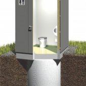 Neues Toilettensystem GOLDGRUBE® für den öffentlichen Bereich