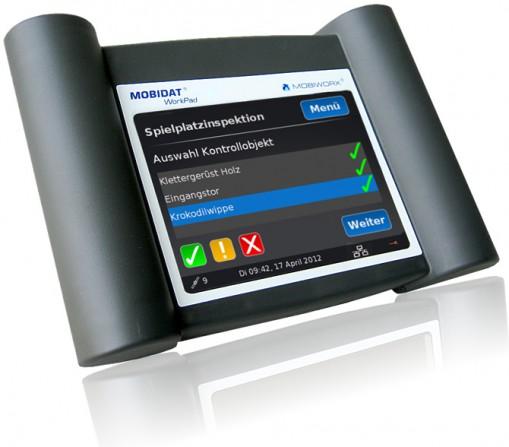 Die Telematiklösung für den mobilen Einsatz: MOBIDAT WorkPad.