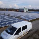 Moderne Photovoltaikanlage