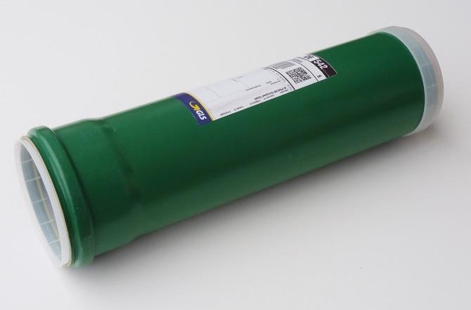 """Eine """"grüne Rohr-Post"""" von Alphacan Omniplast"""