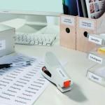 Adressieren, Kennzeichnen, Ordnen: Etiketten sind aus dem Alltag in Unternehmen, Behörden und auch im Privatleben nicht mehr wegzudenken.