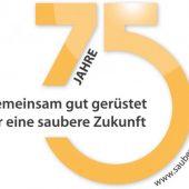 """""""Gemeinsam gut gerüstet für eine saubere Zukunft"""" lautet das Motto für das Jubiläumsjahr der bema GmbH Maschinenfabrik."""