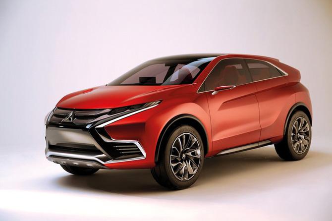 Mitsubishi SUV-Studie Concept XRPHEV II* mit neuem Plug-in-Hybridsystem (PHEV)