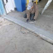 Ramponierte Rampen schnell und sicher reparieren