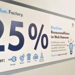 Volkswagen Nutzfahrzeuge verzeichnet 2014 am Standort Hannover den niedrigsten Energie-Verbrauch der vergangenen zehn Jahre – und das bei einem gestiegenen Produktionsvolumen.