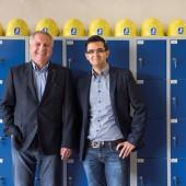 Geschäftsführer Joachim Mix und Matthias Juchem, Geschäftsführender Gesellschafter