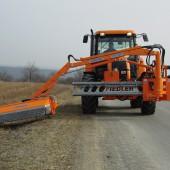 Frontauslegemäher FFA 500/700 zum Anbau an jeden Schlepper