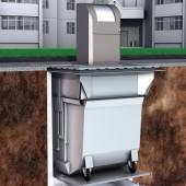 Unterflur-Lösung für flüssigkeitsdichte und geruchsfreie Biomüllsammlung
