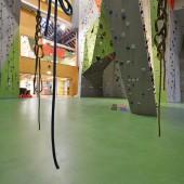 Unabhängig vom Können der Kletterer steht die Sicherheit – an der Wand und am Boden – stets im Vordergrund.