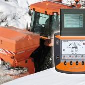 RAUCH erweitert die Winterdienststreuer- Baureihen AXEO und UKS für den professionellen Einsatz mit dem vollautomatischen GPS-Datenerfassungssystem Medes pico.