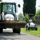 SDF präsentiert Kleintraktoren-Baureihe für die Garten- und Landschaftspflege