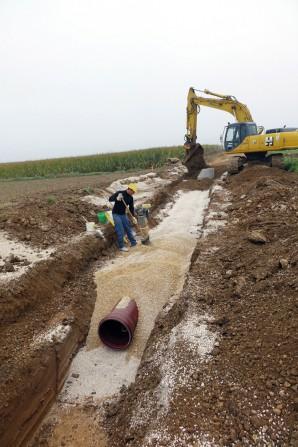 Blindheim realisiert Kanalisation mit Kanalrohrsystemen von Funke