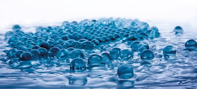 Glaskugeln als Filtermedien für Brunnen und Wasseraufbereitung