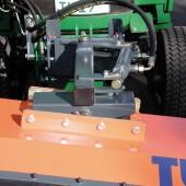 Doppelter Niveauausgleich mit hydraulischer Seitenverstellung