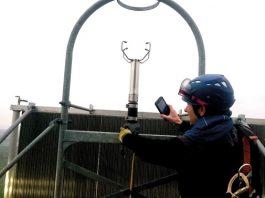 Tasko® im Einsatz auf einer Windenergieanlage