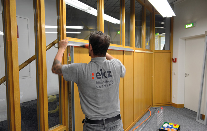 kd161 ekz - Bibliotheksmöbel austauschen, umbauen, reparieren – die Profis helfen!