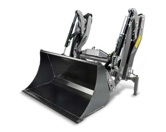 Kärcher erstmals frontlader für kommunalmaschinen der mittelklasse