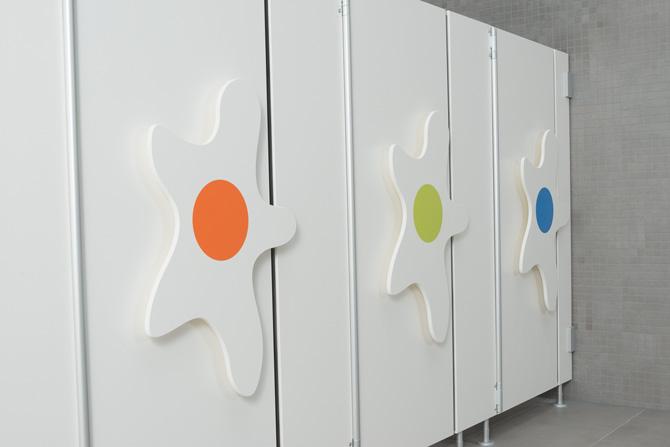 kd161 kemmlit1 - Zahlen-Griffe als Pädagogik-Konzept in den Sanitärräumen  Kinderhaus in Tübingen mit Bambino ausgestattet!