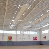 Trainingshalle der Telekom Baskets Junioren