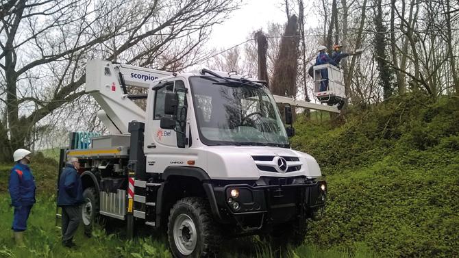 kd162 unimog2 - Italienischer Energieversorger setzt 40 neue Unimog ein