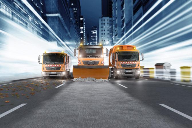 man ifat image 670x447 01 160315 - Flexibel, wirtschaftlich, umweltbewusst: MAN-Fahrzeuge auf der Messe IFAT 2016
