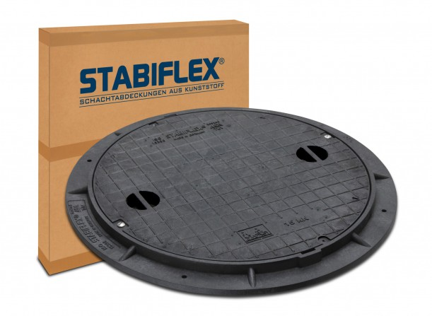 Fotografie Verpackung Stabiflex 050 - Schachtabdeckungen aus Kunststoff