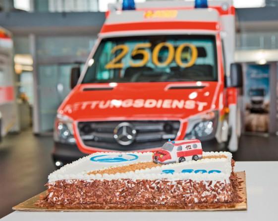 kd163 daimler lowres1 - 2500ster Sprinter-Rettungswagen für den Rettungsdienst in Bayern