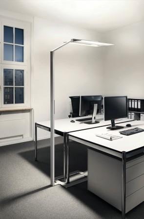 kd163 luctra2 - FLOOR OFFICE dient zur Ausleuchtung des gesamten Arbeitsbereiches Biologisch wirksames Licht in minimalistischem Design