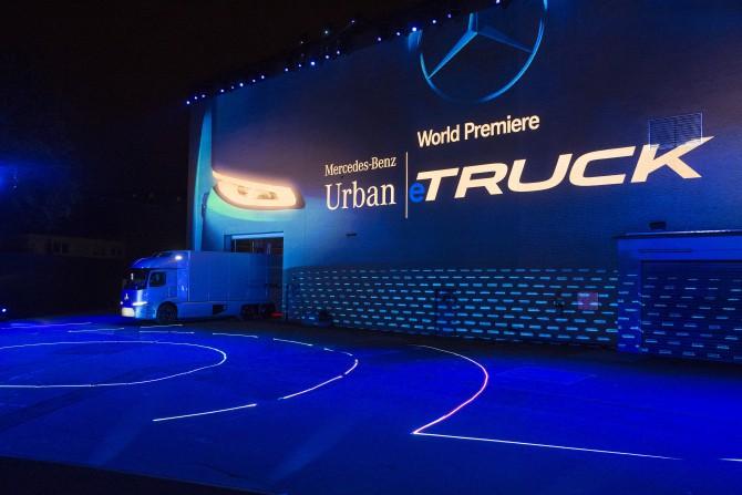 16C829  006 - IAA 2016: Daimler Nutzfahrzeuge im urbanen Verkehr der Zukunft: Autonom, elektrisch und vernetzt