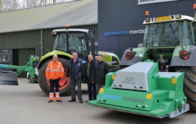 kd164 hen - HEN-Technologie jetzt auch bei niederländischen Gemeinde im Einsatz