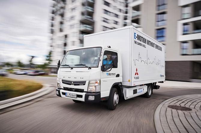 kd164 mercedes elekto - Mercedes-Benz präsentiert weltweit ersten vollelektrischen Lkw  für schweren Verteilerverkehr