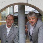 Holger Schliesenski und Hans-Georg Westphal, Geschäftsführer von W+S WESTPHAL Ingenieurbüro für Bautechnik GmbH. Der Braunschweiger Tragwerksplaner arbeitet seit 2010 nach dem QualitätsStandard Planer am Bau.