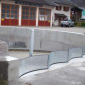 Zufahrt Tiefgarage