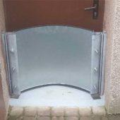 Schutz einer Kellertür