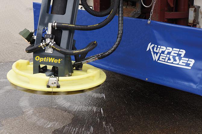 kd166 kuepper weisser1 - Streumaschinen mit OptiWet®– FS100