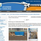 Homepage Kanalbau Akademie