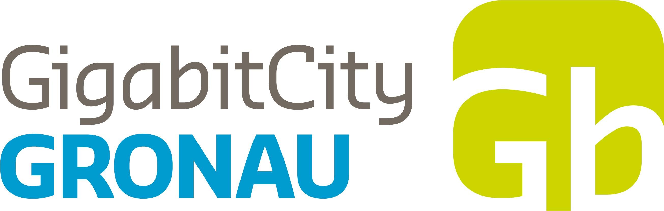 Logo Gigabit Gronau - Gronau wird zur GigabitCity