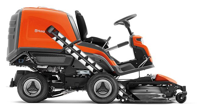Die neuen Rider Collection von Husqvarna können Schnittgut auffangen und sind dank spezieller Förderschnecke zeitsparend und hocheffizient.