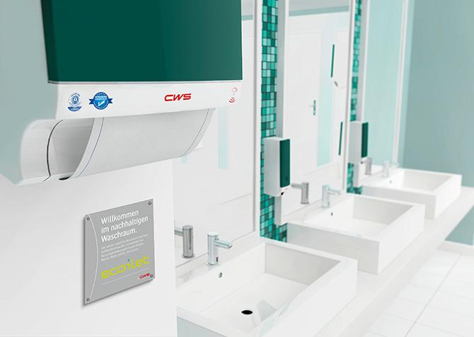 kd173 cws - Grün gewinnt: Nachhaltige Waschräume in öffentlichen Einrichtungen