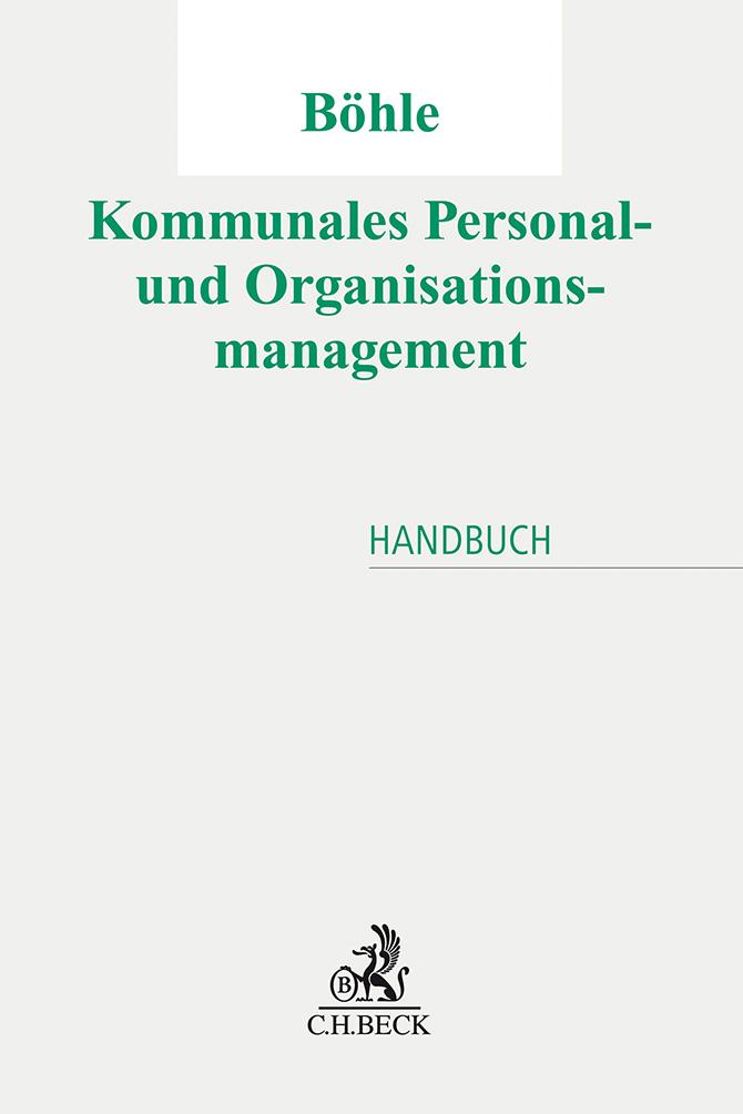 kd175 boehle cover - Kommunales Personal- und Organisationsmanagement