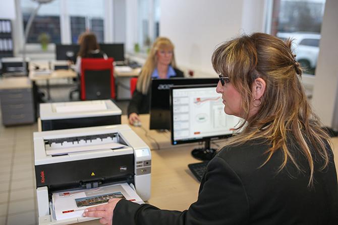 Impression der Gehring Group zu Scannen und digitaler Poststelle