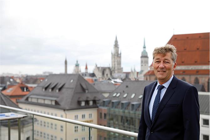 Dipl.-Ing. Gerhard Würzberg, Mitglied der Geschäftsleitung des Ingenieurbüro Regierungsbaumeister Schlegel