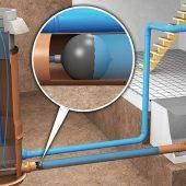 Reicht nicht: Die Füllstandsprüfung liefert keine Erkenntnisse über Zustand und Funktionsfähigkeit der privaten Abwasserleitungen. (Bildquelle: Funke Kunststoffe GmbH)