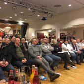 Informationsveranstaltung der net services in Galmsbüll zum Thema Breitbandausbau. Der Andrag war so groß, dass nicht alle einen Sitzplatz bekommen konnten.