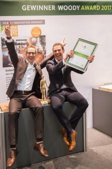 kebony - Offiziell innovativ: Kebony mit Woody Award vom GD Holz ausgezeichnet
