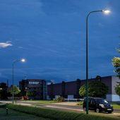 Über 2000 Leuchten des Typs HELLUX Ellipse, ausgestattet mit einem smarten LMS, wurden in Düren installiert.