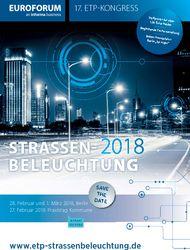 17. ETP-Kongress: Straßenbeleuchtung 2018 @ Titanic Chaussee Berlin | Berlin | Berlin | Deutschland