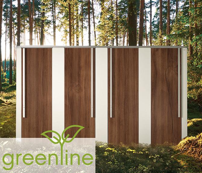 WC-Trennwandsystem NiUU - greenline